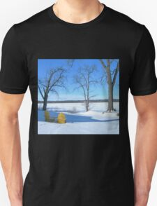 Winter Seating by the Shore T-Shirt
