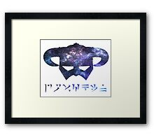 galaxy Dragonborn Framed Print