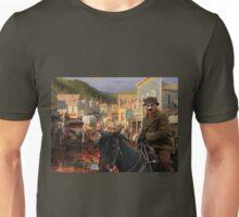 Australian Cattle Dog - Gold Town Unisex T-Shirt