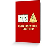 Character Building - Smelly cheese Greeting Card