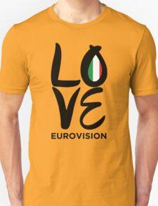 LOVE Eurovision [Italy] Unisex T-Shirt