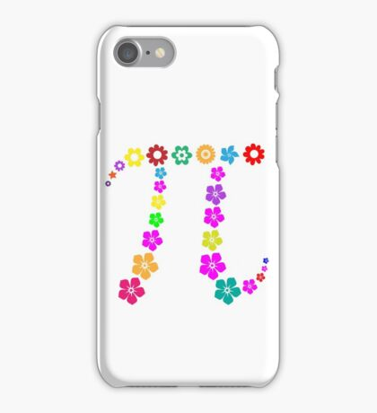 Pi floral beauty iPhone Case/Skin