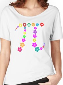Pi floral beauty Women's Relaxed Fit T-Shirt