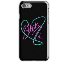 B*tch - Heart Print iPhone Case/Skin