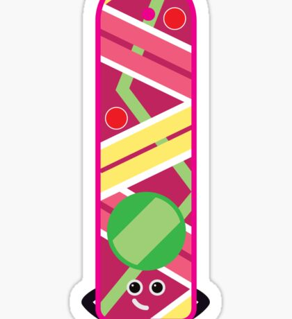 Character Building - Hoverboard Sticker