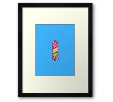 Character Building - Hoverboard Framed Print
