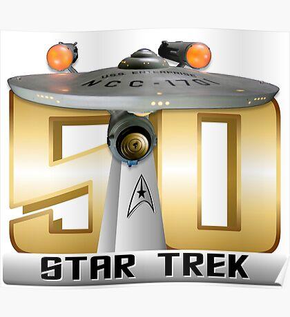 Trek Bowl 50 Poster