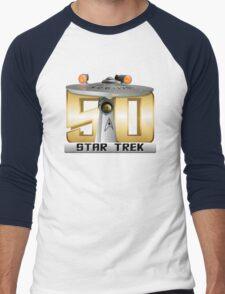Trek Bowl 50 Men's Baseball ¾ T-Shirt