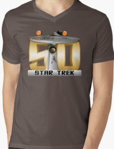 Trek Bowl 50 Mens V-Neck T-Shirt