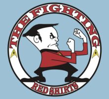 The Fighting Red Shirts with logo One Piece - Short Sleeve