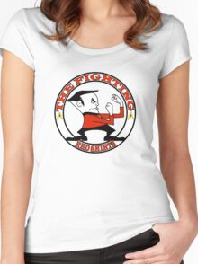 The Fighting Red Shirts with logo Women's Fitted Scoop T-Shirt