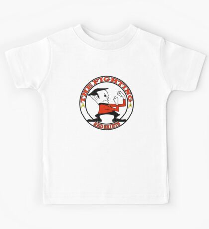 The Fighting Red Shirts with logo Kids Tee