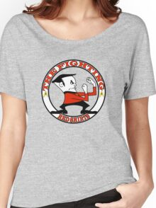 The Fighting Red Shirts with logo Women's Relaxed Fit T-Shirt
