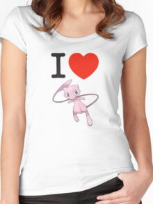 I Love Mew Women's Fitted Scoop T-Shirt