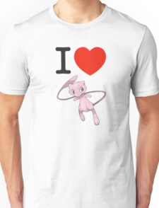 I Love Mew Unisex T-Shirt