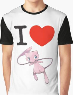 I Love Mew Graphic T-Shirt