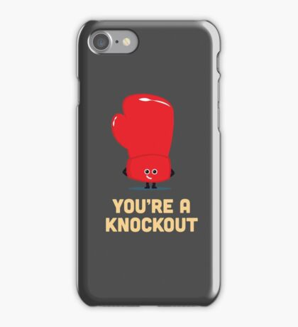 Character Building - Boxing Glove iPhone Case/Skin
