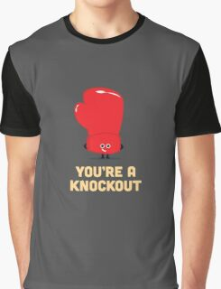 Character Building - Boxing Glove Graphic T-Shirt