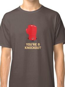 Character Building - Boxing Glove Classic T-Shirt