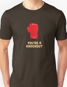 Character Building - Boxing Glove Unisex T-Shirt