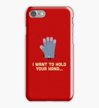 Character Building - Glove iPhone Case/Skin