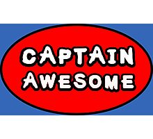 Captain Awesome Photographic Print