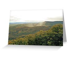 Alsace forest Greeting Card