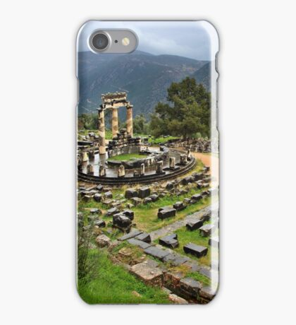 """Ancient Delphi, the """"navel"""" of the World iPhone Case/Skin"""