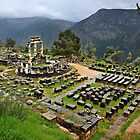 """Ancient Delphi, the """"navel"""" of the World by Hercules Milas"""