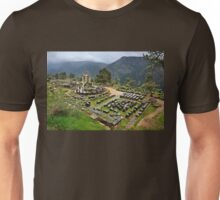 """Ancient Delphi, the """"navel"""" of the World Unisex T-Shirt"""