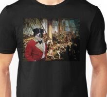 Australian Shepherd Art - The Admira'ls victorians battle Unisex T-Shirt