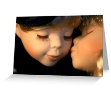 Affection by Porcelain Dolls Greeting Card