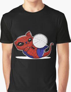 Spider Kitty Graphic T-Shirt