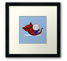 Spider Kitty Framed Print