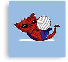 Spider Kitty Canvas Print