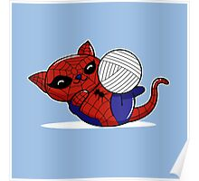 Spider Kitty Poster
