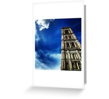 Florence's Giotto Tower Greeting Card