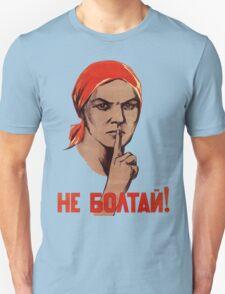 Soviet Treason Poster T-Shirt