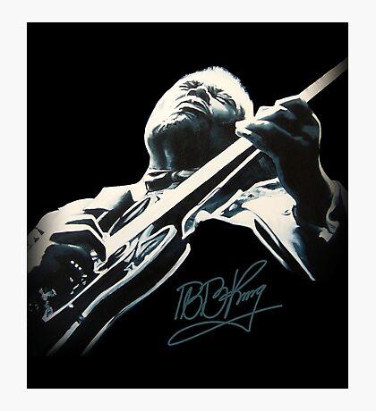 B B King T-Shirt Photographic Print