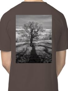 Lone tree over the East Somerset Railway Classic T-Shirt