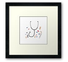doctors equipment Framed Print