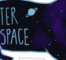 Otter Space Blues Sticker