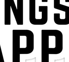 Gangsta Napper Funny Quote Sticker