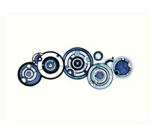 Doctor Who - The Doctor's name in Gallifreyan #4 Art Print