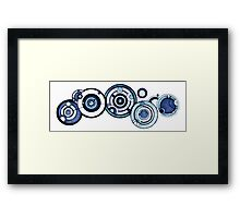 Doctor Who - The Doctor's name in Gallifreyan #4 Framed Print