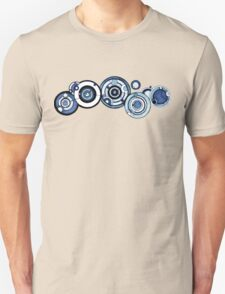 Doctor Who - The Doctor's name in Gallifreyan #4 Unisex T-Shirt