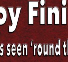 """LaVoy Finicum """"The shots seen 'round the world"""" Sticker"""