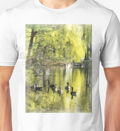 Geese by Willow Unisex T-Shirt