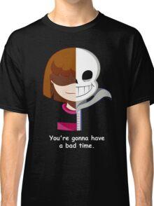 Undertale Sans VS Frisk Classic T-Shirt