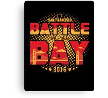 Battle for the Bay Canvas Print